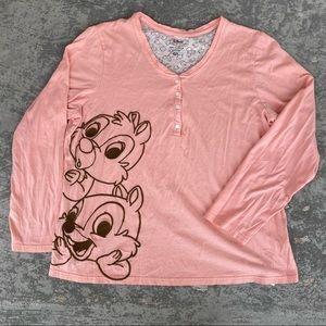 Disney Chip & Dale Long Sleeve T-Shirt